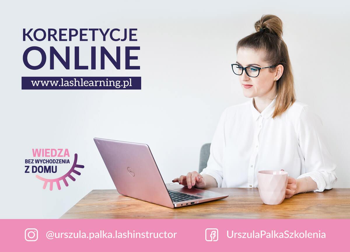 Lashlearning Urszula Pałka - korepetycje online